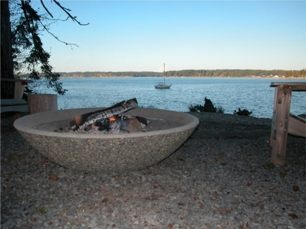 Alluring Concrete Bowl Fire Pit Large Firepits Fire Pit Bowl Insert Large Fire Pit Bowl Interior