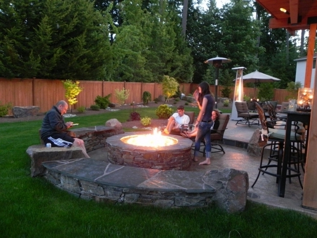 Alluring Fire Pit Ideas For Small Backyard Backyard Design Ideas With Fire Pit Large And Beautiful Photos