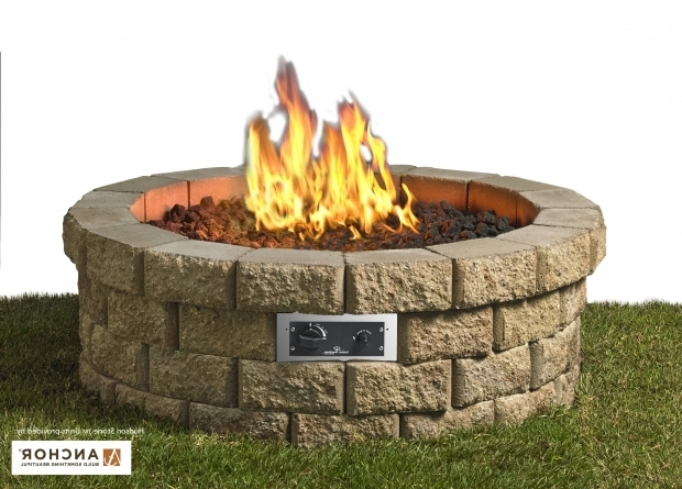 Alluring Fire Pit Kit Stone Hudson Stone Fire Pit Kit Fire Pits Fire Pits Fireplaces