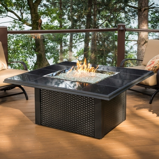 Amazing Propane Fire Pits With Glass Rocks Fire Pit Rocks For Natural Scenery Top Modern Home Design
