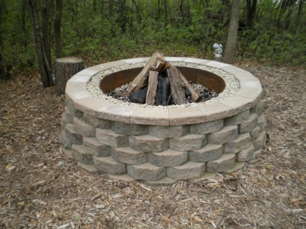 Amazing Retaining Wall Fire Pit 1000 Images About Patio Amp Firepit Ideas On Pinterest Fire Pit