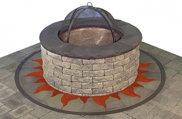 Awesome Fire Pit Kit Stone Fire Pit Stone Center Of Va