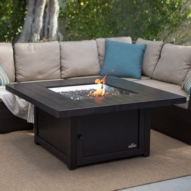Awesome Lp Fire Pit Table Napoleon Rectangle Propane Fire Pit Table Fire Pits At Hayneedle