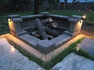 Awesome Rumblestone Fire Pit Garden Learning More Better For Stone Fire Pit Kit Canada