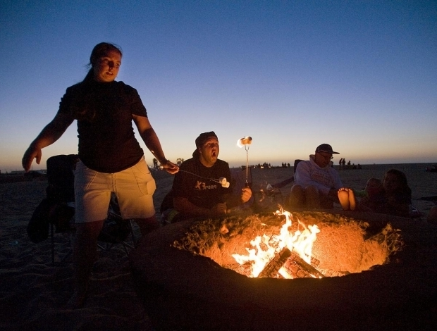 Delightful Corona Del Mar Fire Pits Coastal Commission Approves Newport Beach Fire Rings Plan At Two
