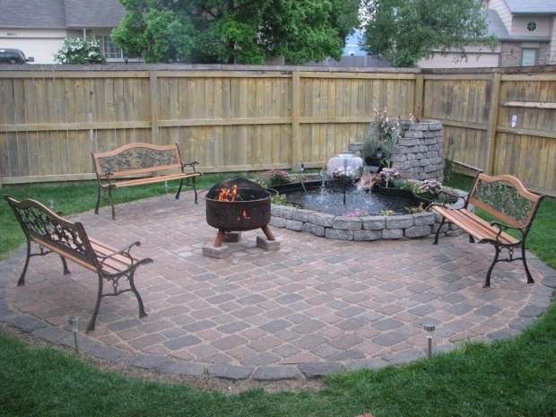 Delightful Fire Pit Ideas For Small Backyard How To Create Fire Pit On Yard Simple Backyard Fire Pit Ideas