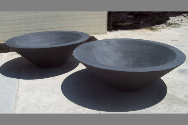 Fantastic Fire Pit Bowl Only Asian Wok 1 Fire Bowl Concrete Creations