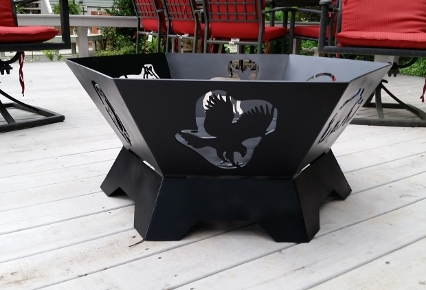 Fantastic Hexagon Fire Pit Custom Hexagon Fire Pit Fire Pit