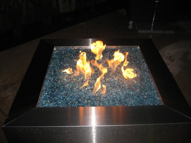 Fantastic Propane Fire Pits With Glass Rocks Propane Fire Pit Glass Rocks Fire Pit Design Ideas