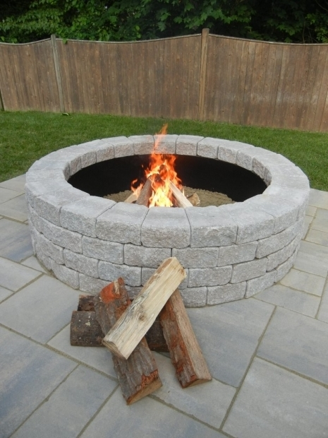 Fascinating Fire Pit Kit Stone Half Off Outdoor Fire Pit Kit At Unilock Unilock Groupon