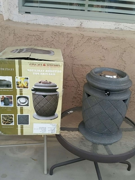 Fascinating Higley Fire Pits Letgo Outdoor Tabletop Gas Fire Pit In Higley Az