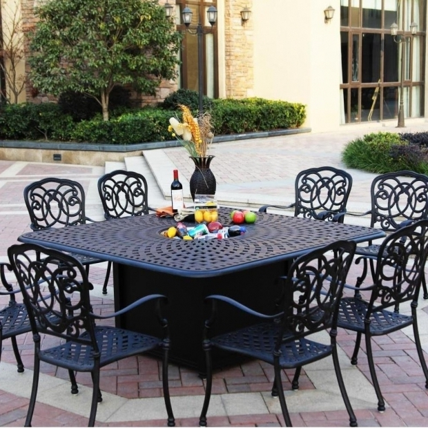 Fascinating Outdoor Dining Sets With Fire Pit Fire Pit Dining Set Tennsat