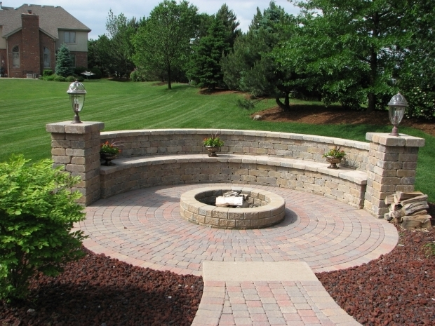 Gorgeous Backyard Landscaping Ideas With Fire Pit Garden The Most Beautiful Ideas Of Fire Pit For Back Yard Design