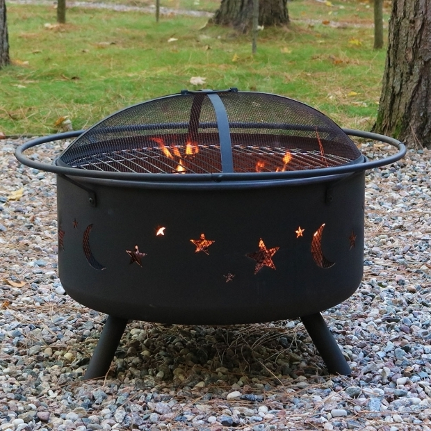 Gorgeous Fire Pit Grill Combo Large Cosmic Fire Pit Or Fire Pit Ampamp Cooking Grill Combo