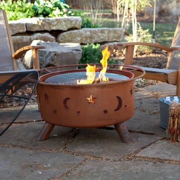 Gorgeous Homemade Fire Pit Grill Homemade Fire Pit Grill Image