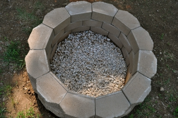 Gorgeous How To Build A Fire Pit On Concrete 1000 Images About Firepit Easy Diy On Pinterest First Us