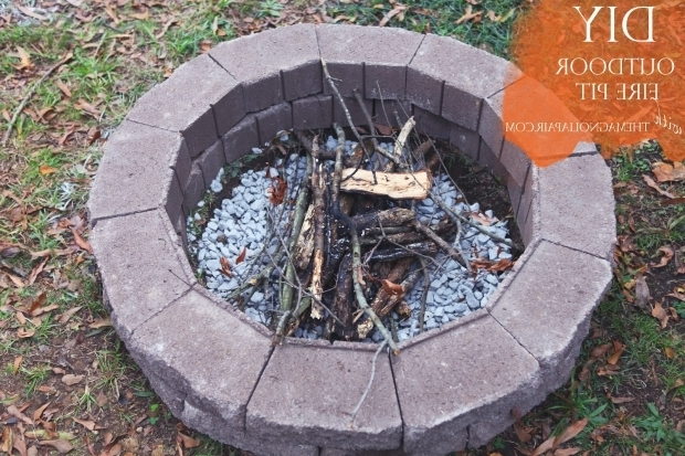 Gorgeous How To Make An Outdoor Fire Pit 1000 Images About Garden Dreams On Pinterest
