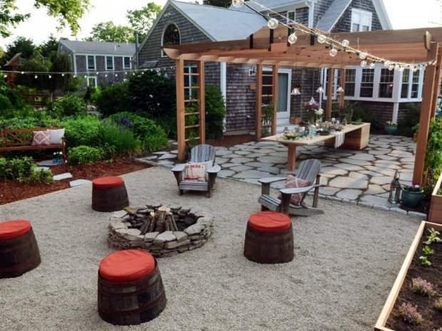Gorgeous Pea Gravel Fire Pit Blessedbe S Backyard Patio And Fire Pit Pea Gravel Fire Pit Area