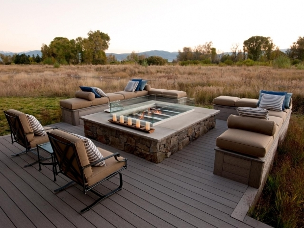Image of Fire Pit In Deck 1000 Images About Brown Reno Deck Areas April 2015 On Pinterest