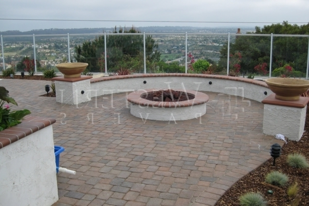 Image of Fire Pits San Diego San Diego Pavers Masonry Walls Gallery Western Pavers Serving