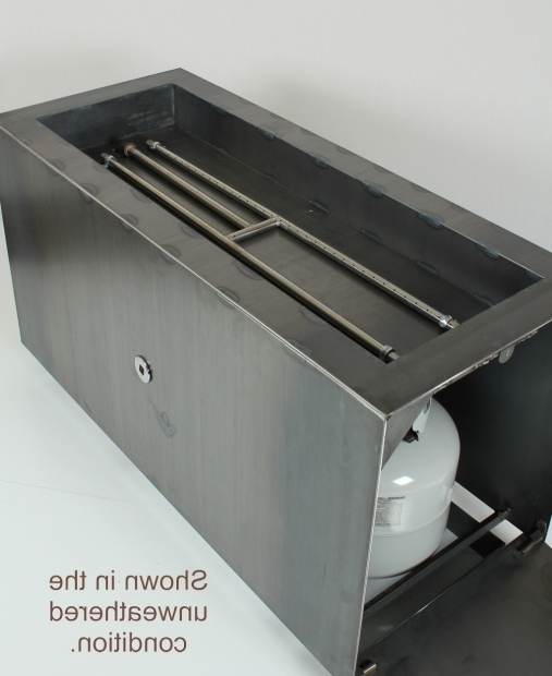 Image of Hidden Tank Fire Pits Cor Ten Steel Fire Pit L Hidden Tank Fire Pit Modern Hidden Tank