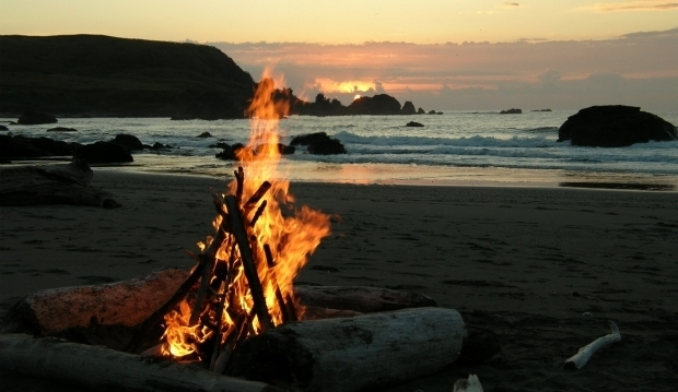 Image of Mission Beach Fire Pits California Beach Bonfires California Beaches