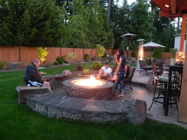 Incredible Backyard Landscaping Ideas With Fire Pit Especial Backyard Fire Pit Ideas Landscaping Home Design Ideas And