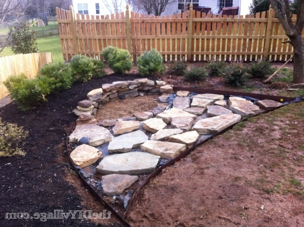 Inspiring How To Build A Stone Fire Pit Building A Stacked Stone Fire Pit The Diy Village