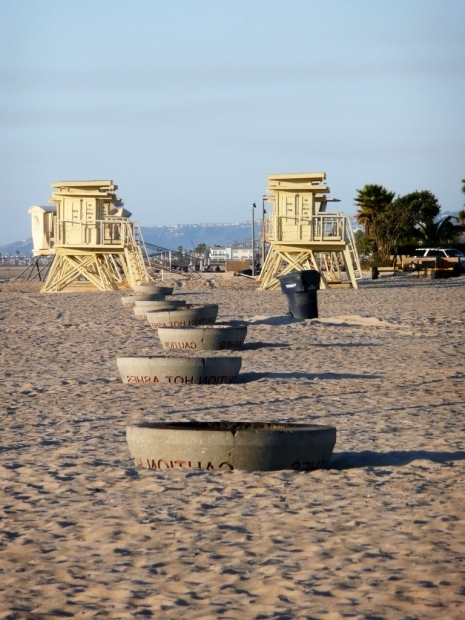 Inspiring Huntington Beach Fire Pits Map Bill Seeks To Preserve 39iconic39 California Beach Bonfires 893 Kpcc