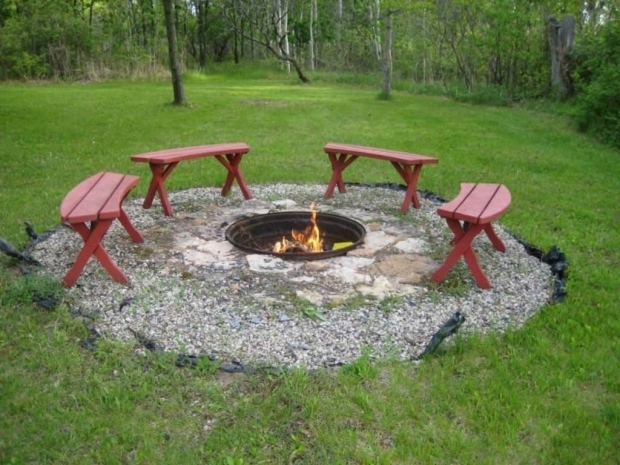 Inexpensive fire pit fire pit ideas for Make a fire pit cheap