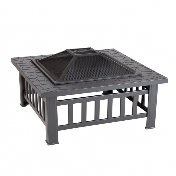 Outstanding Rolling Fire Pit Fire Pits Outdoor Heating The Home Depot