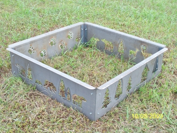 Outstanding Square Fire Pit Ring Square Fire Pit Ring Lenassweethome