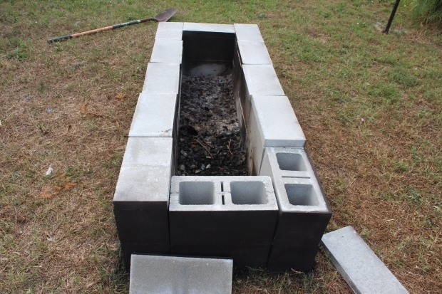 Picture of Concrete Block Fire Pit 1000 Images About Backyard Ideas On Pinterest