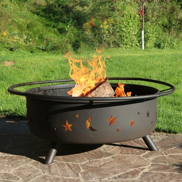 Picture of Fire Pit Grill Combo Large Cosmic Fire Pit Or Fire Pit Ampamp Cooking Grill Combo