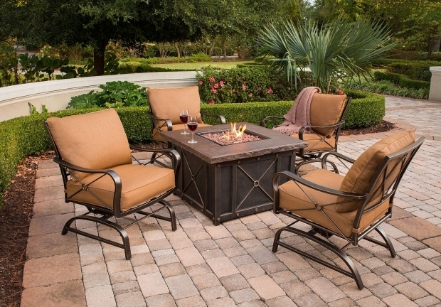 Picture of Gas Fire Pit Table And Chairs Gas Fire Pit Table And Chairs Vidrian
