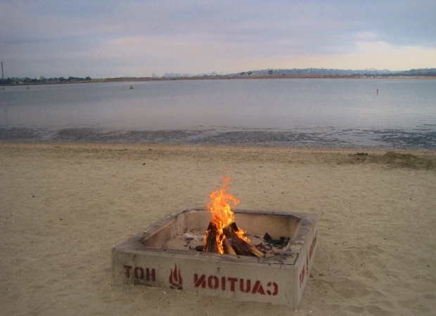 Remarkable Mission Beach Fire Pits Ecsd Staff Pick For Quottop Summertime Activitiesquot Beach Bonfires