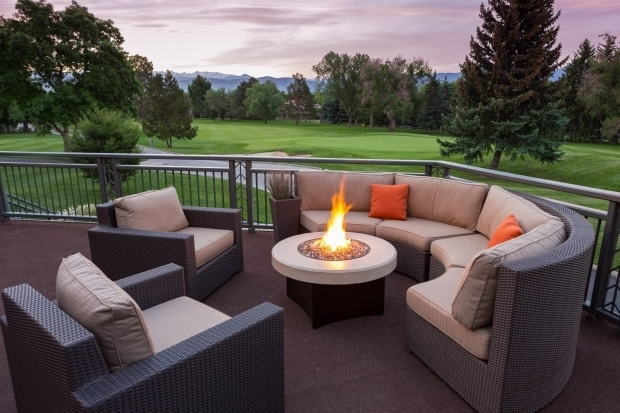 Stunning Gas Fire Pit Table And Chairs Malibu Outdoor Sectional Couch 5 Pieces Including Gas Fire Pit