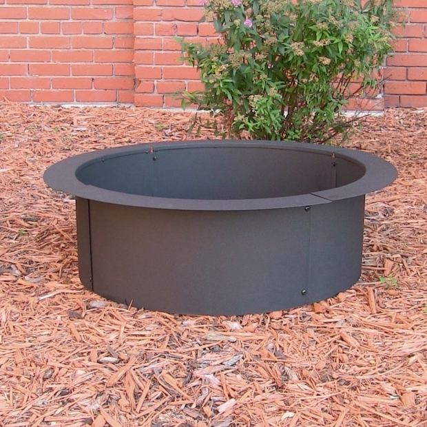 Stunning Make Your Own Fire Pit Heavy Duty Fire Pit Rim Make Your Own In Ground Fire Pit