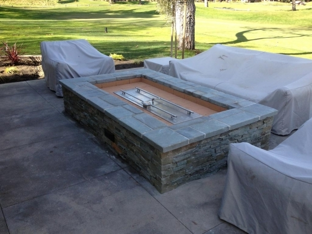 Stylish Build Your Own Gas Fire Pit Diy Gas Fire Pit Insert Fire Pit Design Ideas