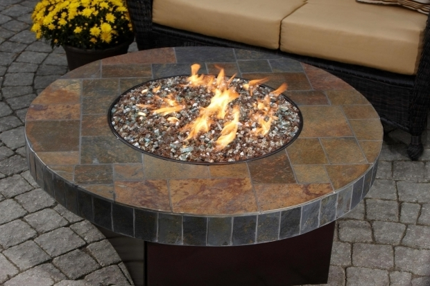 Stylish Glass Stones For Fire Pit Diy Gas Fire Pit Table Fire Pits Pinterest Fire Pits Fire