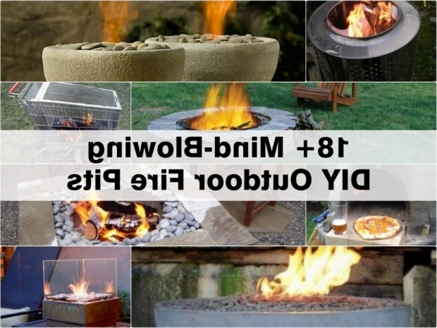 Wonderful How To Make An Outdoor Fire Pit 18 Mind Blowing Diy Outdoor Fire Pits