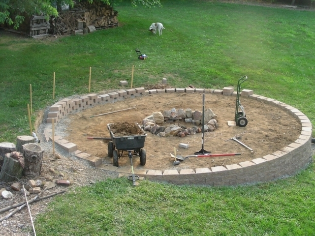 Wonderful Pea Gravel Fire Pit Built My Dream Fire Pit Album On Imgur
