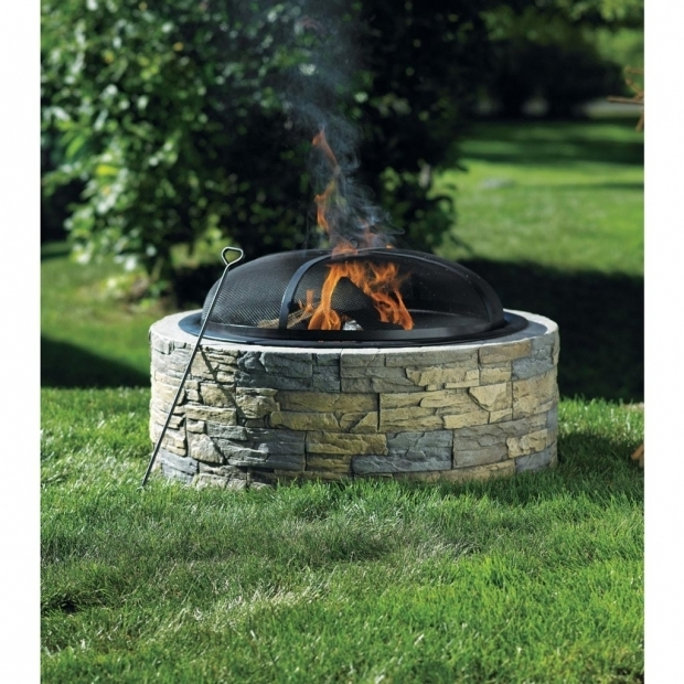 Alluring Enclosed Fire Pit Stone Fire Pit Bunnings Fire Pit Pinterest Stones Fire Pits