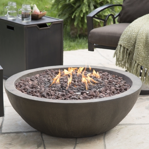 Alluring Gas Fire Pit Cover Red Ember Mesa 28 In Gas Fire Pit Bowl With Free Cover Fire