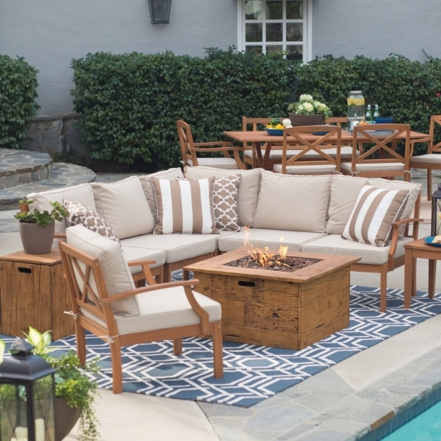 Alluring Patio Conversation Sets With Fire Pit Patio Furniture Sets With Fire Pit