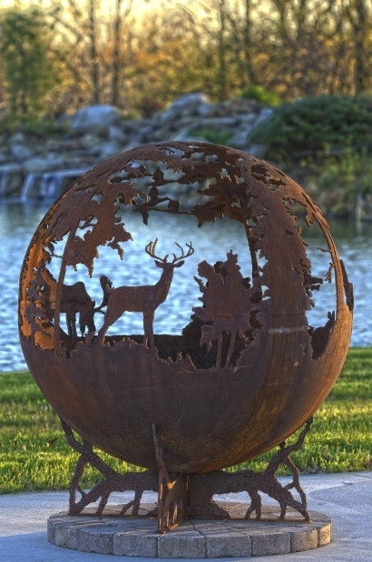 Amazing Deer Fire Pit Up North Fire Pit Sphere The Fire Pit Gallery