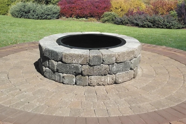 Amazing Paver Fire Pit Kit Century Series Cobble Circle Kit Romanstone Hardscapes
