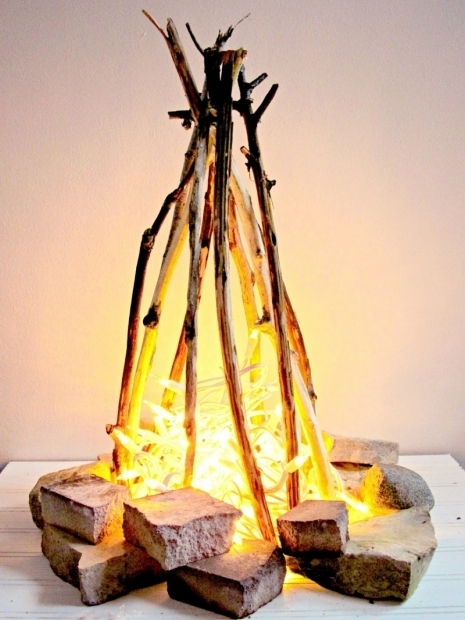 Beautiful Flameless Fire Pit Picture Of Diy Flameless Fire Pit For Home Decor