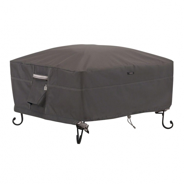 Beautiful Square Fire Pit Covers Classic Accessories Veranda Square Fire Pit Cover 71942 The Home