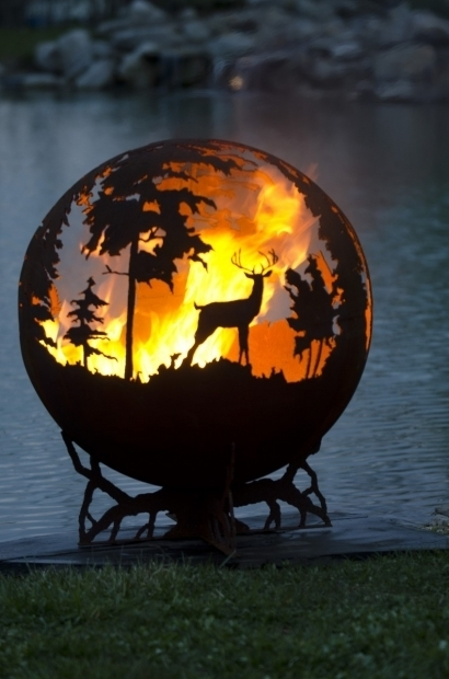 Delightful Deer Fire Pit 17 Best Images About Unique Fire Pits On Pinterest Fire Pits
